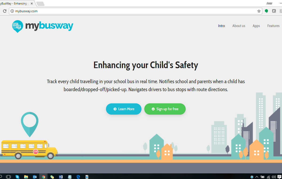 MyBusWay – App & Dashboard for enhancing child's safety (School Bus solution)